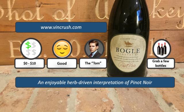 Bogle Pinot Rating