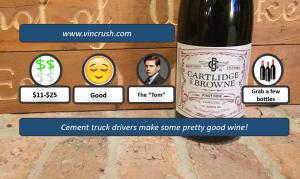 Cartlidge Pinot Noir Rating