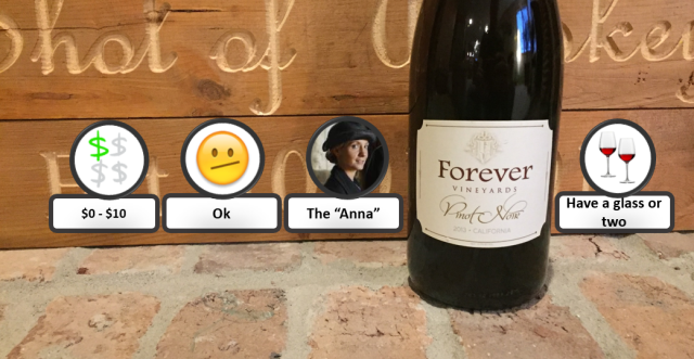 Forever Pinot Noir Rating