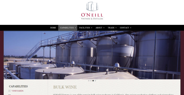 ONeill bulk wine