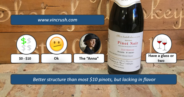Autrefois Pinot Review