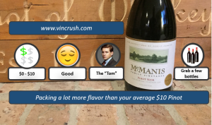 McManis Pinot Rating