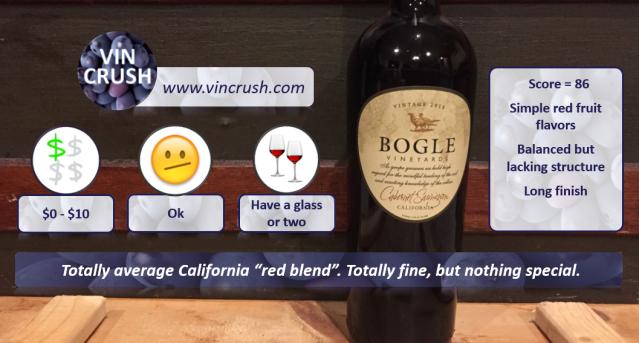 6 Bogle Cab Review